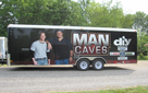"Gary Johnson, Tony ""The Goose"" Siragusa, Jason Cameron, Man Caves, Jimmie Johnson, Complete Hydraulic"