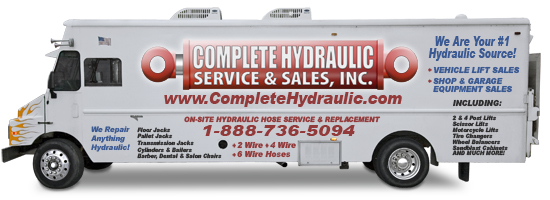 Complete Hydraulic | Hydraulic Service and Repair Department