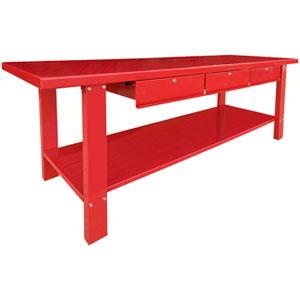 Outstanding Workbenches Tcwbs5 Heavy Steel 3 Drawer Workbench Beatyapartments Chair Design Images Beatyapartmentscom