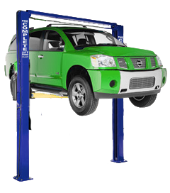 NPS 11,000 OH 2 Post Automotive Lift
