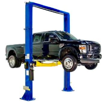 2 Post Lifts Nps 15 000 Oh 15 000 Lb Two Post Vehicle