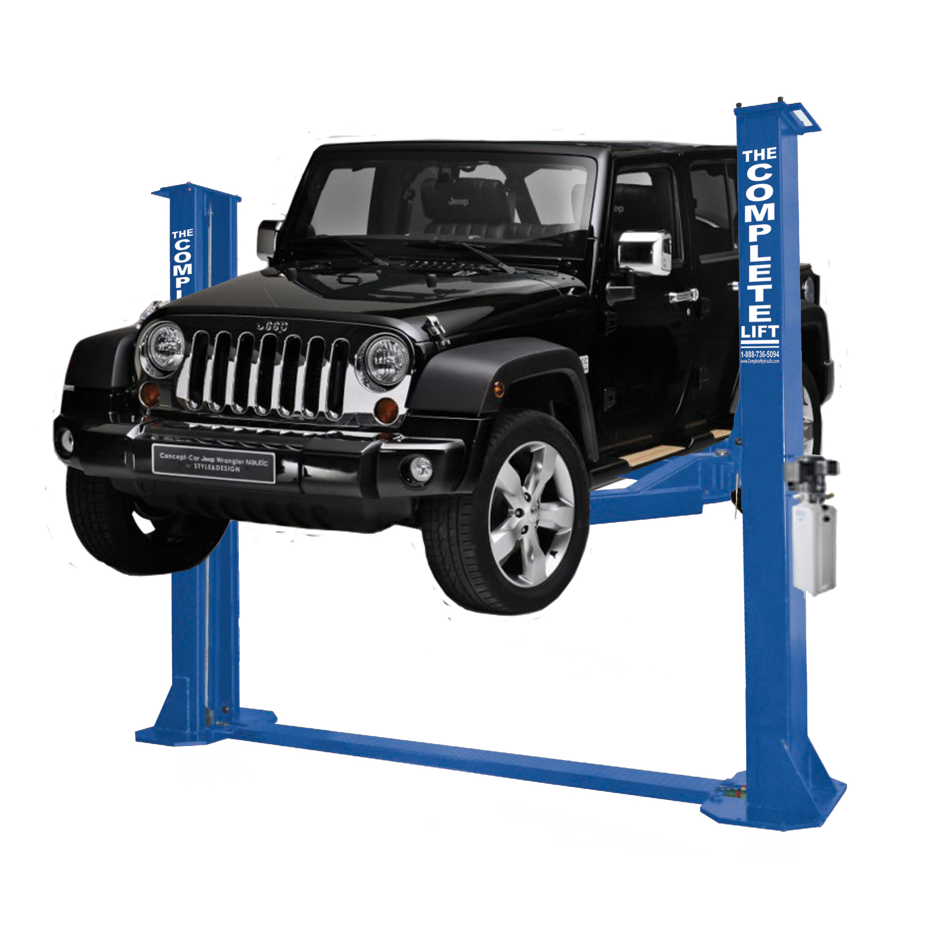 <clt></clt> 12,000 BP Heavy Duty 2 Post Lift