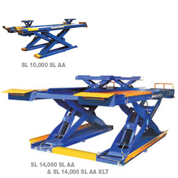 10000 Lb Car Lift >> Scissor Alignment Lifts | SL 10,000 SL (10,000 LB.), SL ...
