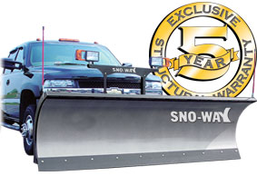 Sno-Way snowplows