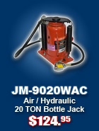 Special: 20 Ton Bottle Jack: $99.99